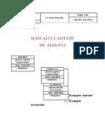 Manual a Calitatii (1)