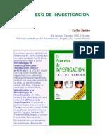 Libro Da Carlos Sabino de La Investigacion (capitulo 1)