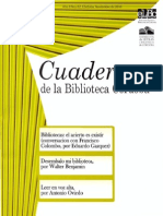 Walter Benjamin Desembalo Mi Biblioteca Cuadernos de La Biblioteca Córdoba Nº 2