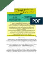 La programación de la preparación técnico-táctica de los futbolistas infantiles. Un ejemplo para 13 y 14 años.docx