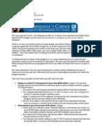 IRS Commissioner John Koskinen Letter