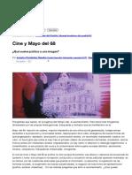 Cine y Mayo del 68