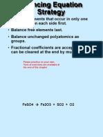 Chemical Reaction Balancing