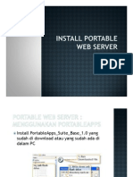 Install Portable Web Server2 [Compatibility Mode]
