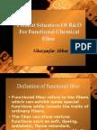 Functional Fibers