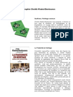 Bibliographie Cheikh Khaled Bentounes