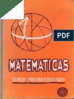 Matematicas - Preuniversitario
