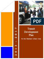 2013-2017 Transit Development Plan for the Madison Urban Area
