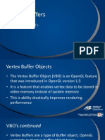 5 - Lecture - Vertex Buffers