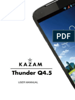 Kazam Q45 User Manual