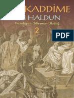 Bn Haldun - Mukaddime II ClearScan