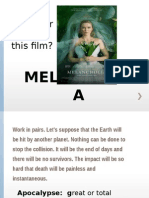 Melancholia Film Activuty