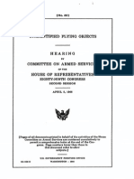 Congressional Hearing Unidentified Flying Objects 1966