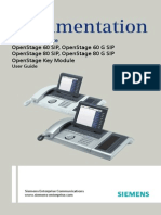 Siemens OpenStage 60-80 User Manual