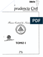 Referencias de Jurisprudencia Civil - Tomo i - Parte i