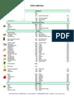 1800 Calorie