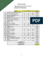 Presupuesto - Instalación de Dos Compuertas