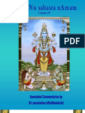vishnu sahasra namam vol4   Bhagavad Gita   Karma