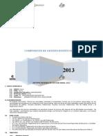 Informe de Memoria de Gestion Anual (Institucional)
