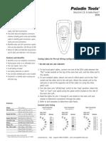 Paladin 1576 Operating Instructions