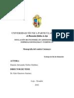 Monografia de Catamayo
