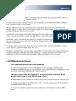 IDYM Statutes 2009