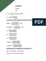 Formulario Quimica