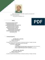 CV en - Dan Adrian Baluta