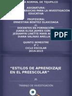 Presentación de Protocolo