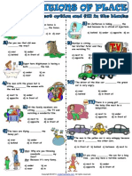 Prepositions of Place 1