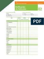 Listas de Verficacion Vehiculos