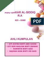 Saidina Abu Bakar Al-siddiq