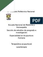 Instituto Politécnico Nacional Laser