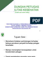 1. Pres14-2010-Perlindungan Petugas Kesehatan_edit Ida.ppt