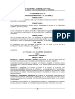 Ley Organica Organismo Legislativo Guatemala