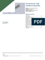 Viga Isostática Empotrada-Análisis Estático-1