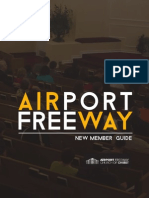New Member Guide for Airport Freeway Church of Christ