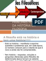 Filosofia - Principais períodos da História da Filosofia.ppt