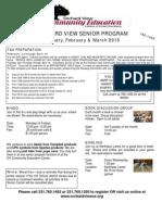 Sr. Brochure January-March 2015
