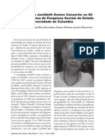 Entrevista Com Josildeth Gomes Consorte