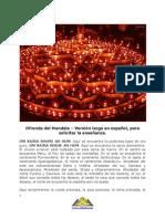 Ofrenda Del Mandala