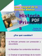 Historia Planes y Programas