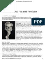 Autocad Large File Size Problem _ Microsolresources