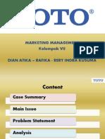 TOTO Case Study - Toko Bunga Surabaya - 082139391217