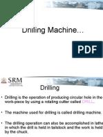 Drilling machine of gabriel