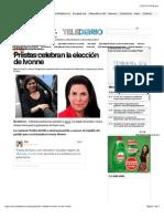 13-01-15 Priistas Celebran La Elección de Ivonne