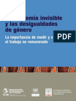 Economia Invisible y Desigualdades de Genero_cepal