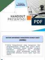SIMRS - Handout Presentasi
