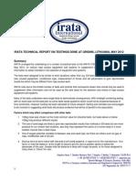 IRATA Technical Report