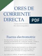 Fuerza Electromotriz y Par Electromagentico
